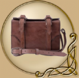 LARP Cartridge leather bag with shoulder strap